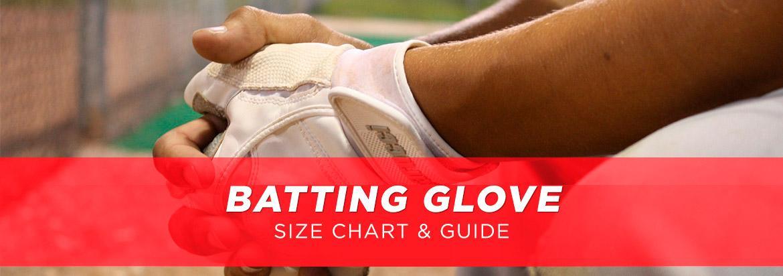 Batting Gloves Size Guide