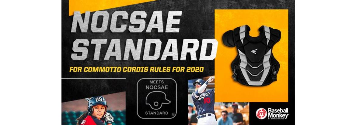NOCSAE Standard for Commotio Cordis Rules for 2020 - Catcher's Chest Protectors