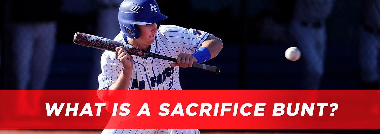 What is a Sacrifice Bunt?