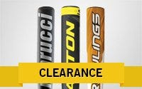 Clearance Senior League Bats