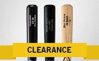 Clearance Wood Baseball Bats