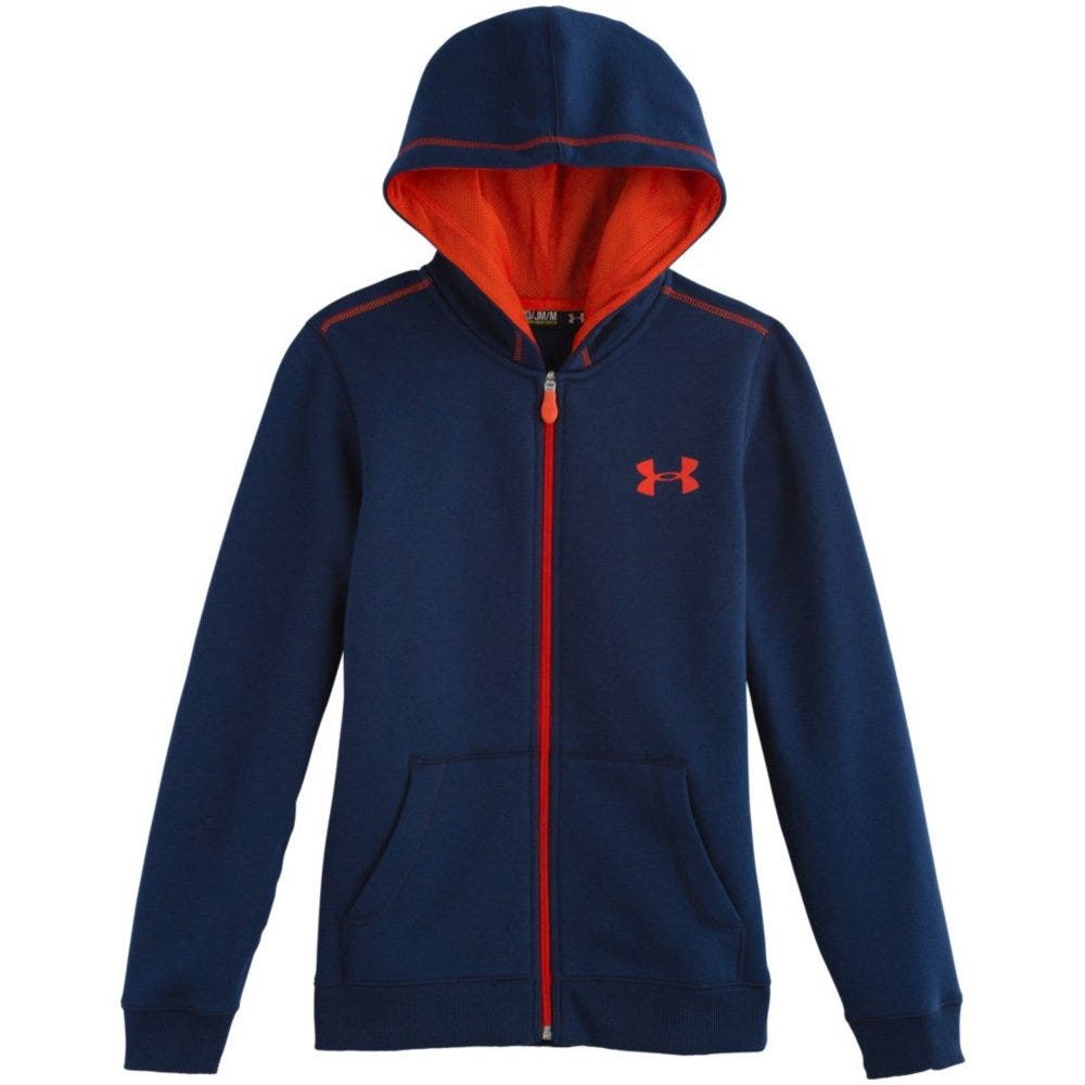 Under Armour Rival Cotton Boys Full Zip Hoody