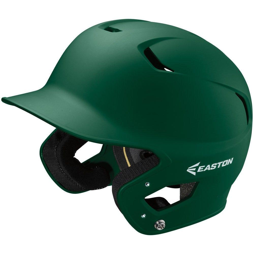 Senior MLB Baseball Fitted Batting Helmets Green Grip - Easton Z5