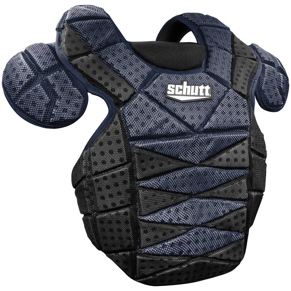Boys Schutt S3.2 Catchers Chest Protector; Black/Navy - Youth