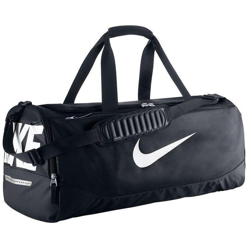 Nike Team Training Max Air Large Duffle Bag - BlackWhite