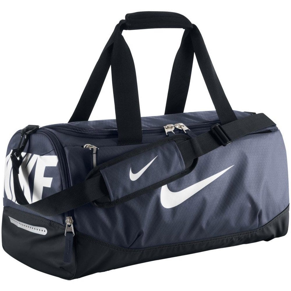 Nike Team Max Air Duffle Bag in Baseball Midnight Navy/Black