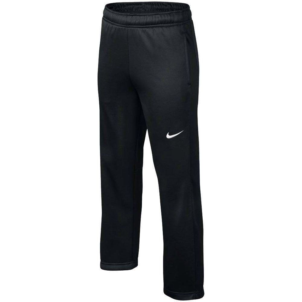 Nike Black/White Baseball KO 3.0 Fleece Training Pant - Size Small