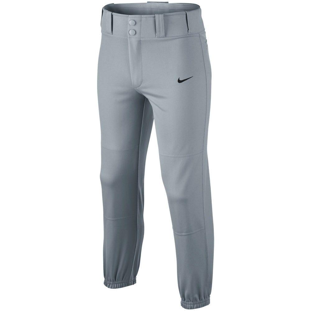 Baseball Core Dri-Fit Baseball Pant by Nike; Boys Large in Grey
