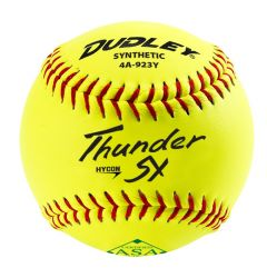 Dudley Thunder SY HyCon 4A-923Y ASA Slowpitch Softball - 1 Dozen