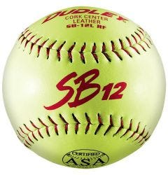 "Dudley SB12L 12"" ASA Slowpitch Softball - 1 dozen"