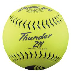 Dudley Thunder ZN USSSA 4U-540Y Slowpitch Softball - 1 Dozen