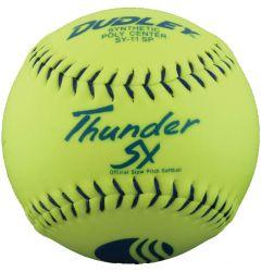 """Dudley Thunder SY 11"""" ASA Slowpitch Softball - 1 dozen"""