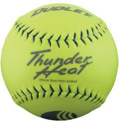 Dudley Thunder Heat 4U-551Y USSSA Slowpitch Softball - 1 Dozen