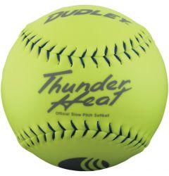 Dudley Thunder Heat 4U-552Y USSSA Slowpitch Softball - 1 Dozen