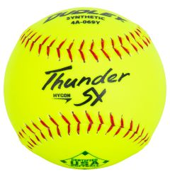 Dudley Thunder SY HyCon 4A-069Y USA Slowpitch Softball - 1 Dozen