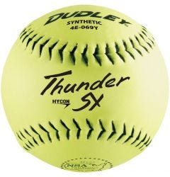 Dudley Thunder SY HyCon 4E-069Y NSA Slowpitch Softball - 1 Dozen