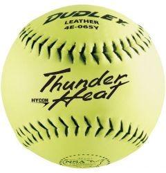 Dudley Thunder Heat HyCon 4E-065Y NSA Slowpitch Softball -1 Dozen