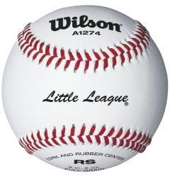 Wilson A1274 Little League Practice Baseball - 3 pack