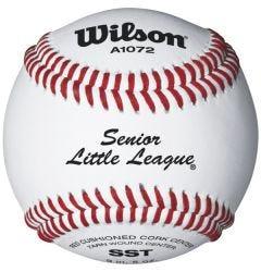 Wilson A1072 SST Senior League Baseball - Dozen