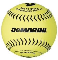 "DeMarini NSA 12"" Synthetic Slowpitch Softball - Dozen"