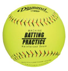 Diamond 11MBP Machine Batting Practice Softball - 1 Dozen