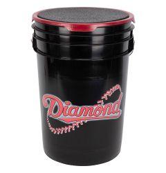 Diamond Black Ball Bucket