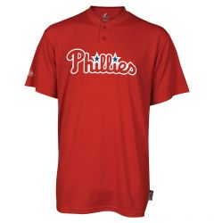 Philadelphia Phillies Majestic MLB Cool Base 2-Button Replica Youth Jersey