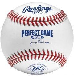 Rawlings PGUB Flat Seam Perfect Game Baseball - 1 Dozen