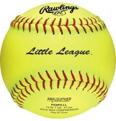 """Rawlings PX2RYLL Official Little League 12"""" Softball - Dozen"""