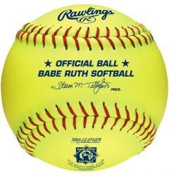 """Rawlings PX2RYLBR 12"""" Babe Ruth Fastpitch Softball - Dozen"""