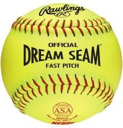 "Rawlings ASA Dream Seam 12"" Softball"