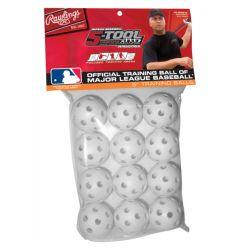 Rawlings 5-Tool 5in. Plastic Training Balls - 1 Dozen