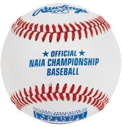 Rawlings FSR100NAIA Flat Seam NAIA Championship Baseball - 1 Dozen