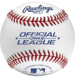 Rawlings FSOLB Official League Baseballs - Dozen