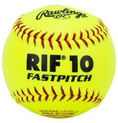 """Rawlings ASA RIF 11"""" Fastpitch Softball - Dozen"""