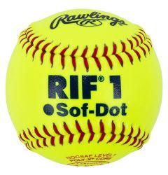 "Rawlings ASA 10"" RIF Training Softball - Dozen"