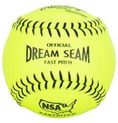 "Rawlings NSA Dream Seam 12"" Fastpitch Softball - 1 Dozen"