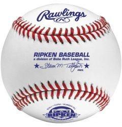 Rawlings RCAL1 Cal Ripken Raised Seam Baseball - Dozen