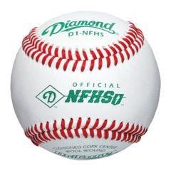 Diamond D1-NFHS Baseball - 1 Dozen