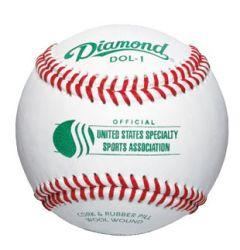 Diamond DOL-1 USSSA Baseball - 1 dozen