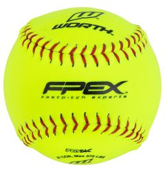 Worth FPX 12SY 12in. Fastpitch Training Softball - 1 Dozen
