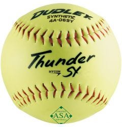 Dudley Thunder SY HyCon 4A-069Y ASA Slowpitch Softball - 1 Dozen