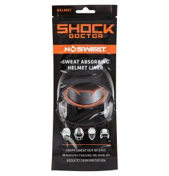 Shock Doctor NoSweat Helmet Sweat Liner - 12 Pack