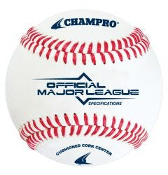 Champro CML-100 Major League Specifications Baseball - 1 Dozen