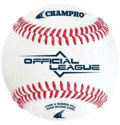 Champro CBB-200 Official League Baseabll - 1 Dozen