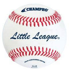 Champro CLL-40 Little League Game Baseball - 1 Dozen
