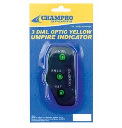 Champro 3-Dial Traditional Umpire Indicator