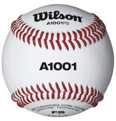 Wilson A1001 Flat Seam Baseball - Dozen