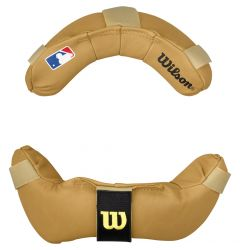 Wilson Full Grain Leather Umpire Facemask Replacement Pads