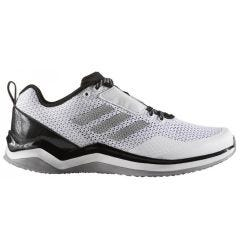 Adidas Speed Trainer 3 Boy's Training Shoes - White/Silver/Black